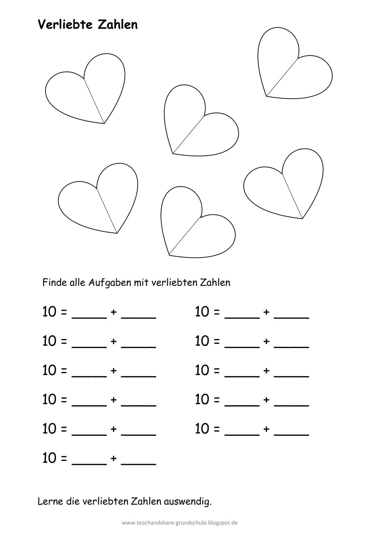 Verliebte Zahlen AB – Unterrichtsmaterial im Fach Mathematik ...