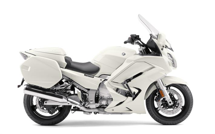 Wallpapers Yamaha Fjr 1300 4k 2018 Bikes White Motorcycle Fjr1300