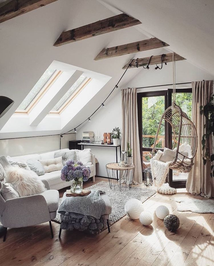 Attic Living Room Decor With Stylish Lighting Pieces Discover Trendiest Chandeliers Wall And Floor Attic Living Rooms Eclectic Bedroom Attic Bedroom Designs