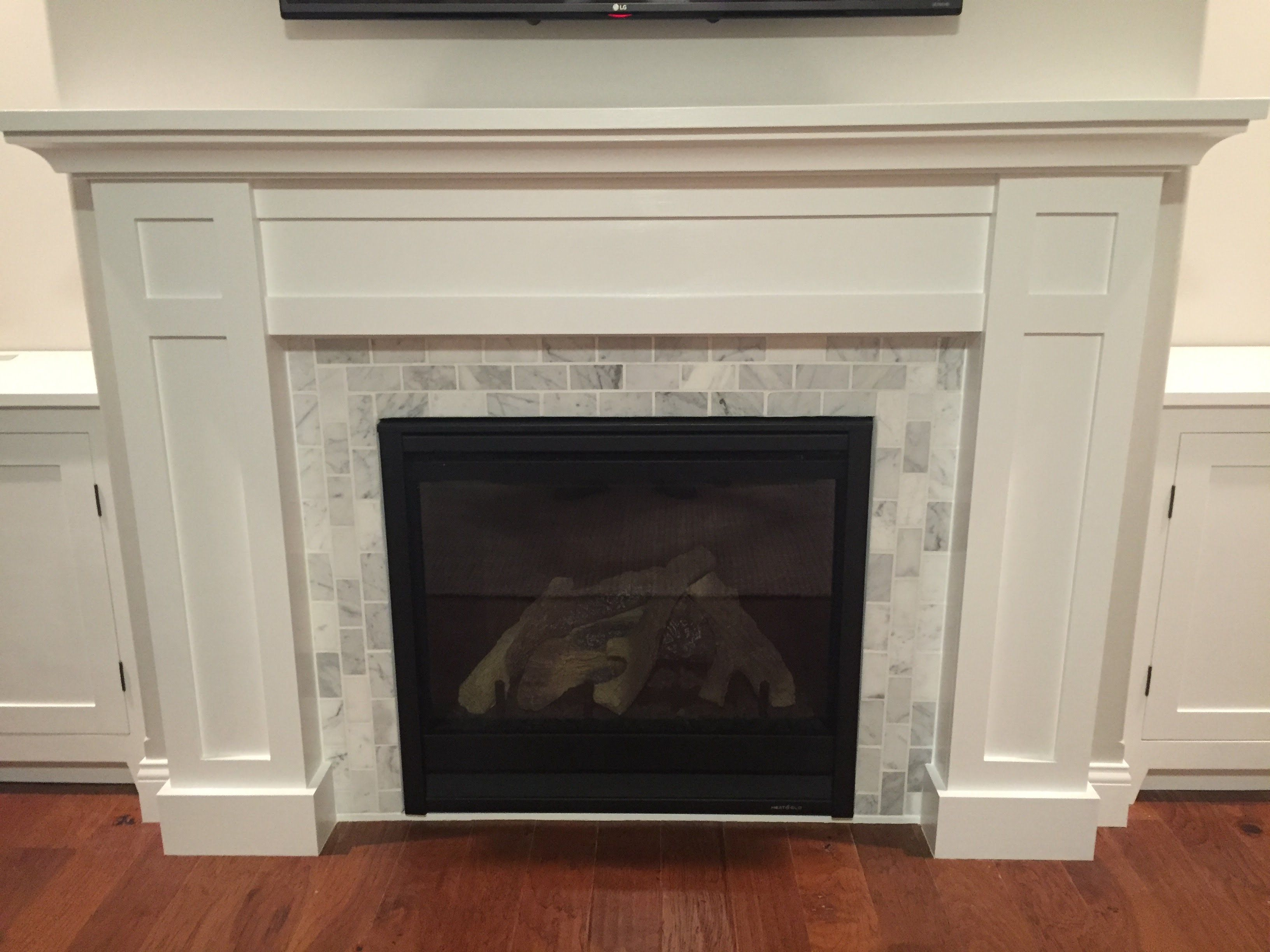 how to build a builtin part 2 of 3 the fireplace mantel and surround