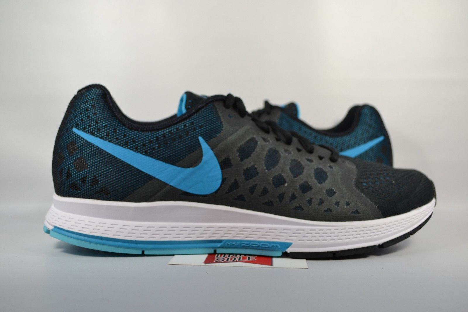 quality design 85c70 b0773 ... where to buy nueva negro nike air zoom pegasus 31 negro nueva laguna  azul 652925 004
