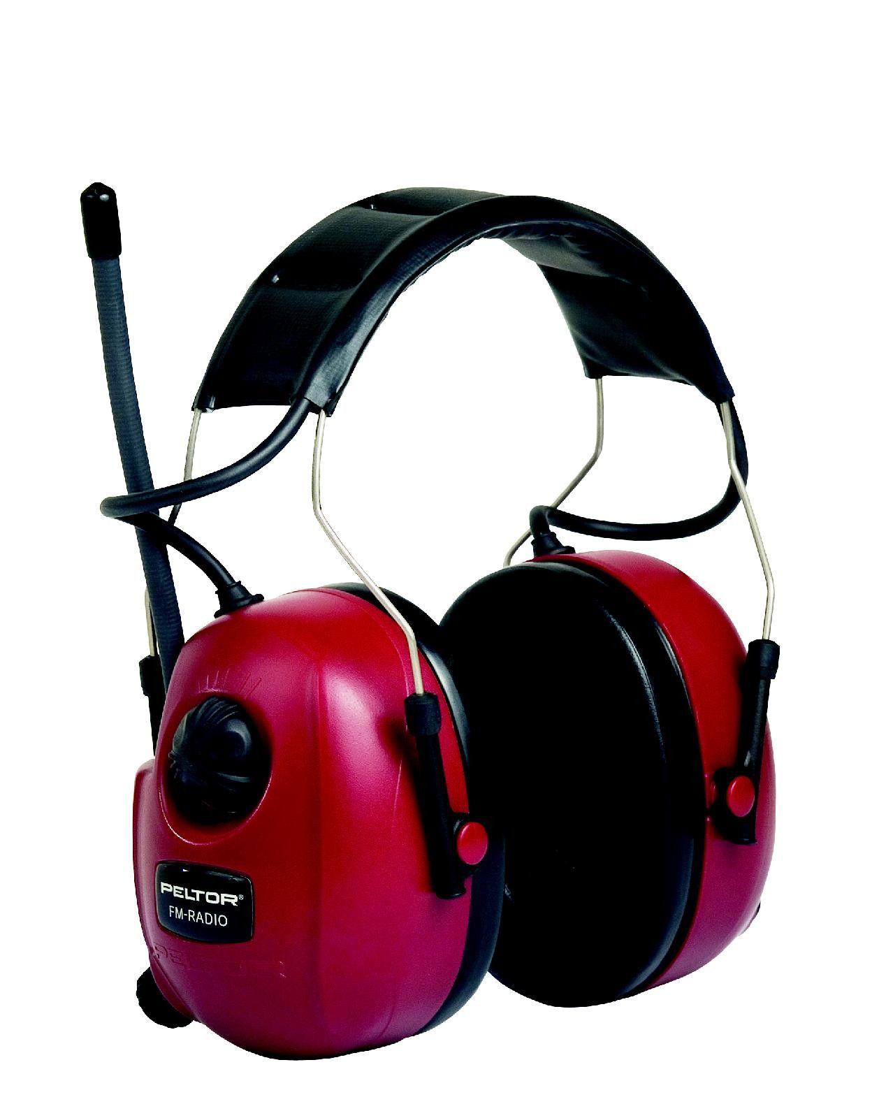 3m Peltor Fm Radio Ear Defenders With Audio Mp3 Input