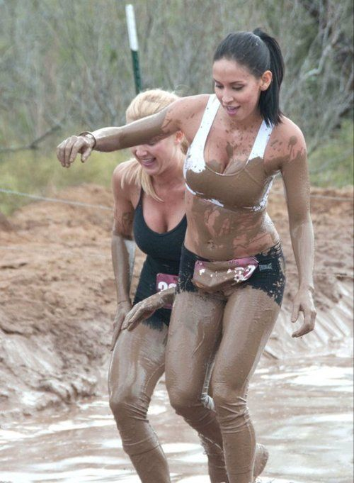 Fun girls messy