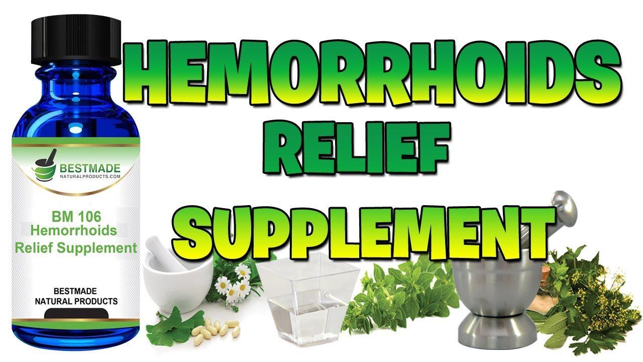 Hemorrhoids relief supplement from bestmade natural