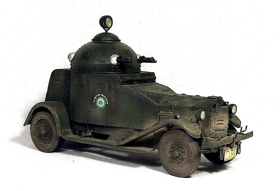 Vickers Crossley Armoured Car