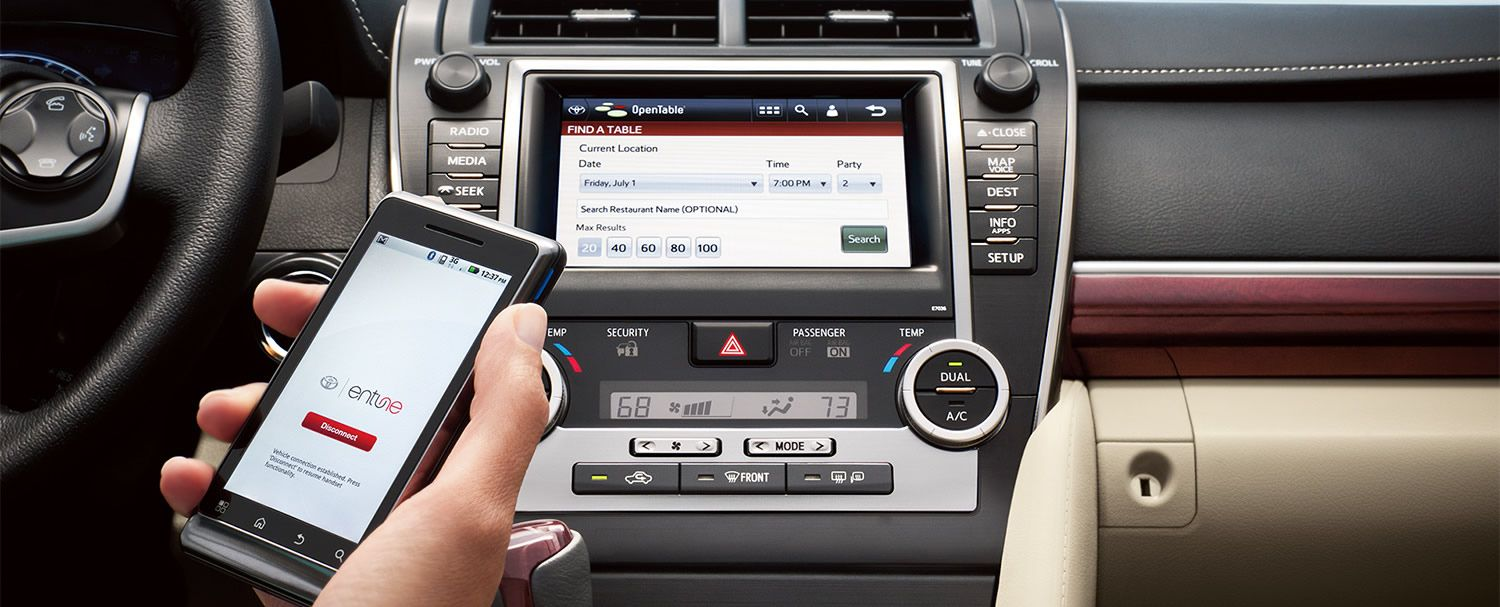 Toyota Camry 2013 Navigation with Entune Camry