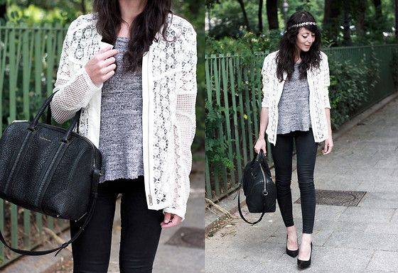 By Julie Jacket, Iro T Shirt, Givenchy Bag, Topshop Jeans, Sacha Heels