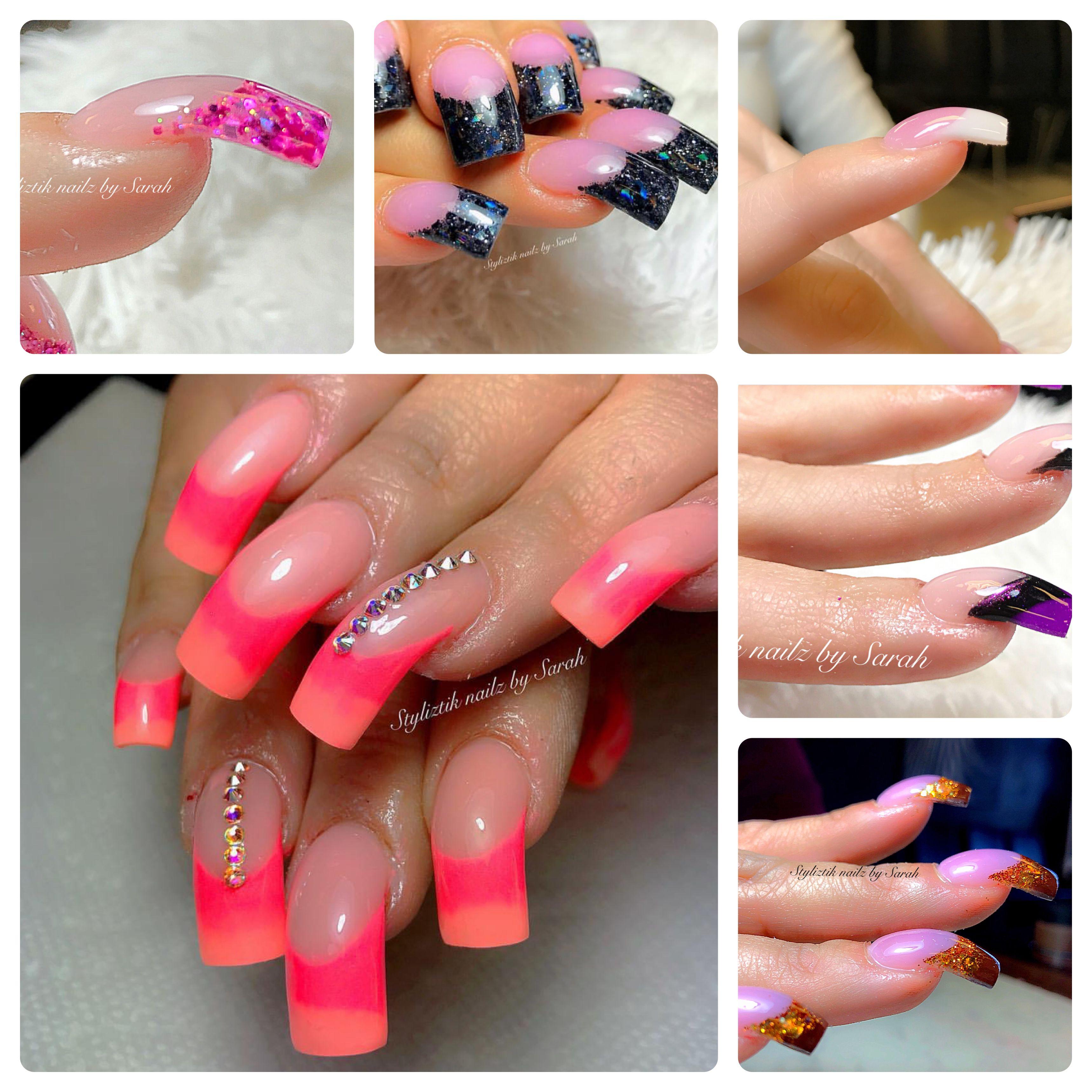 Smooth transition curve nails by Sarah @ Styliztik nailz | nails I ...