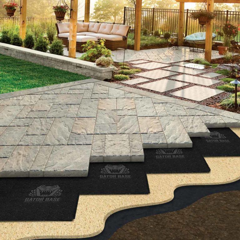 This Paver Patio Base Will Save Your Back Diy patio pavers