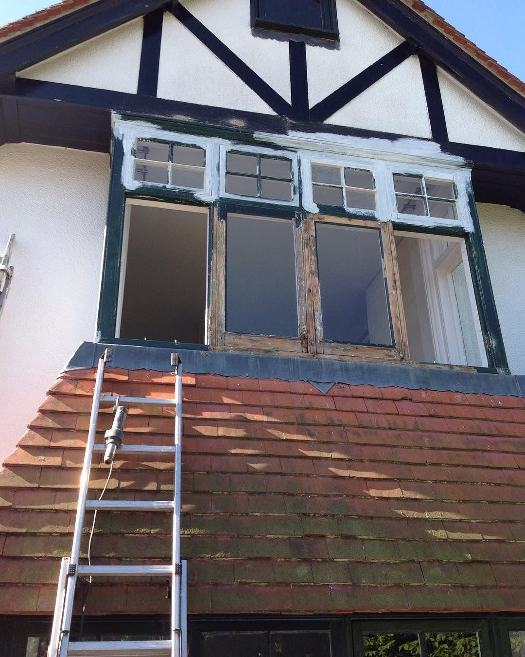 Work in progress #joinery #woodwork #windows #restoration #sjvcarpentry de sjvcarpentry