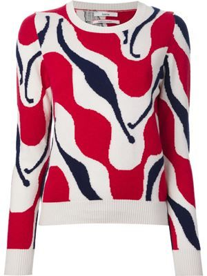 Barrie wavy pattern jumper