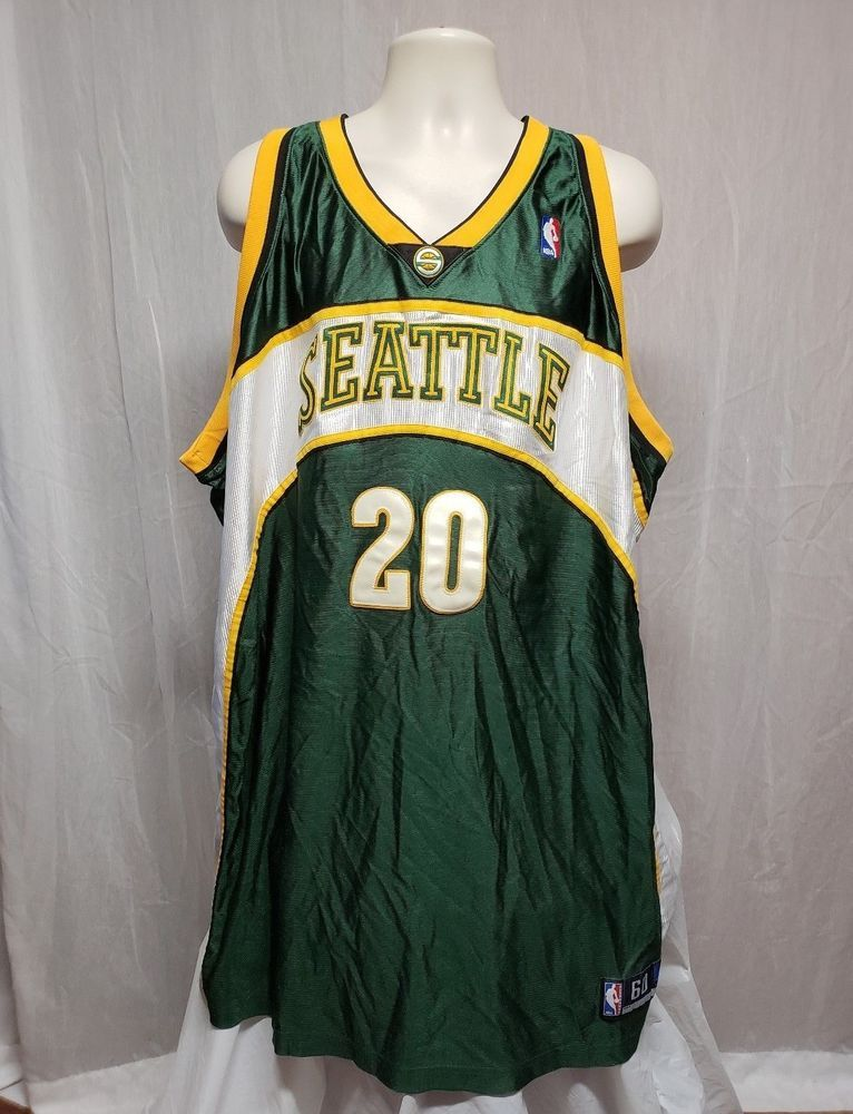 43f12943be2 authentic gary payton jersey Authentic NBA Reebok Seattle Supersonics ...