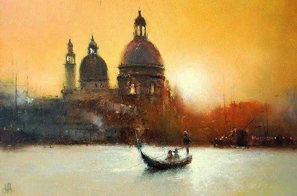 Impressioniartistiche Igor Medvedev Venice Painting History