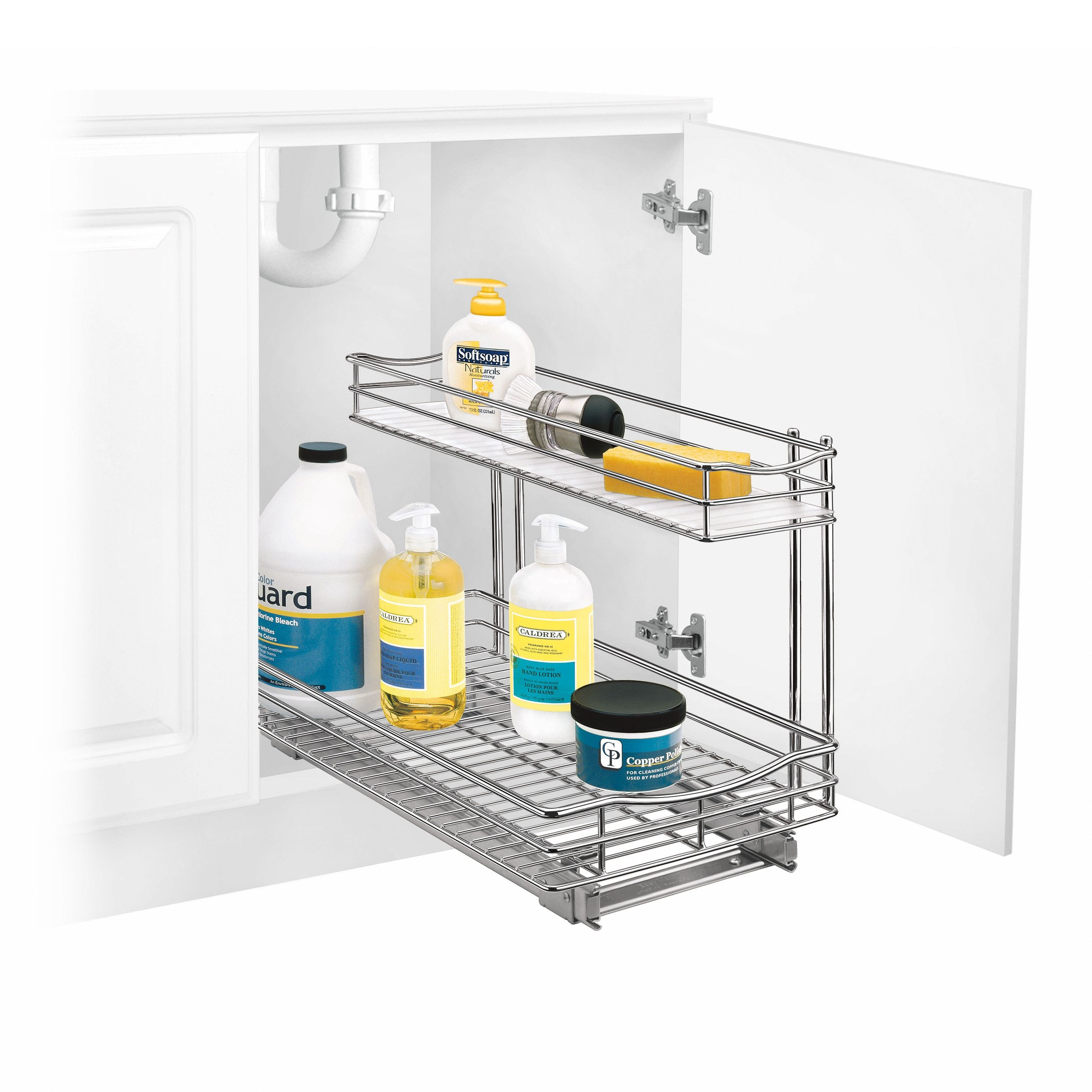 Lynk Professional 11 X 21 Roll Out Under Sink Drawer | http ...