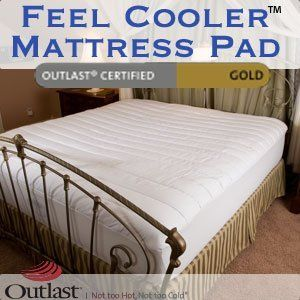 Temperature Regulating Mattress Pad Feel Cooler Twin Size