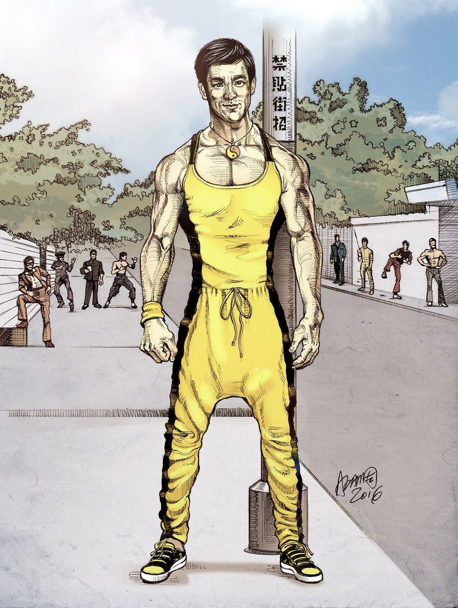 Bruce Lee Art Bruce Lee Martial Arts Bruce Lee