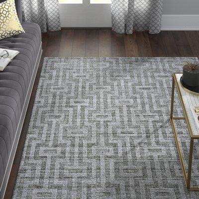 Willa Arlo Interiors Damiane Hand Loomed Silk Gray Area Rug Area Rugs Rugs In Living Room Cool Rugs