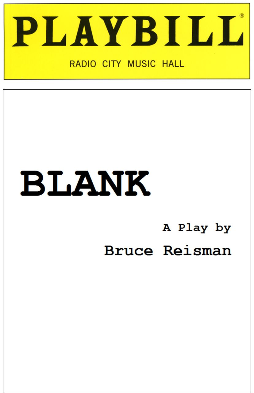 Blank Playbill Cover Blank playbill template corrzoodicsu50s soup ...