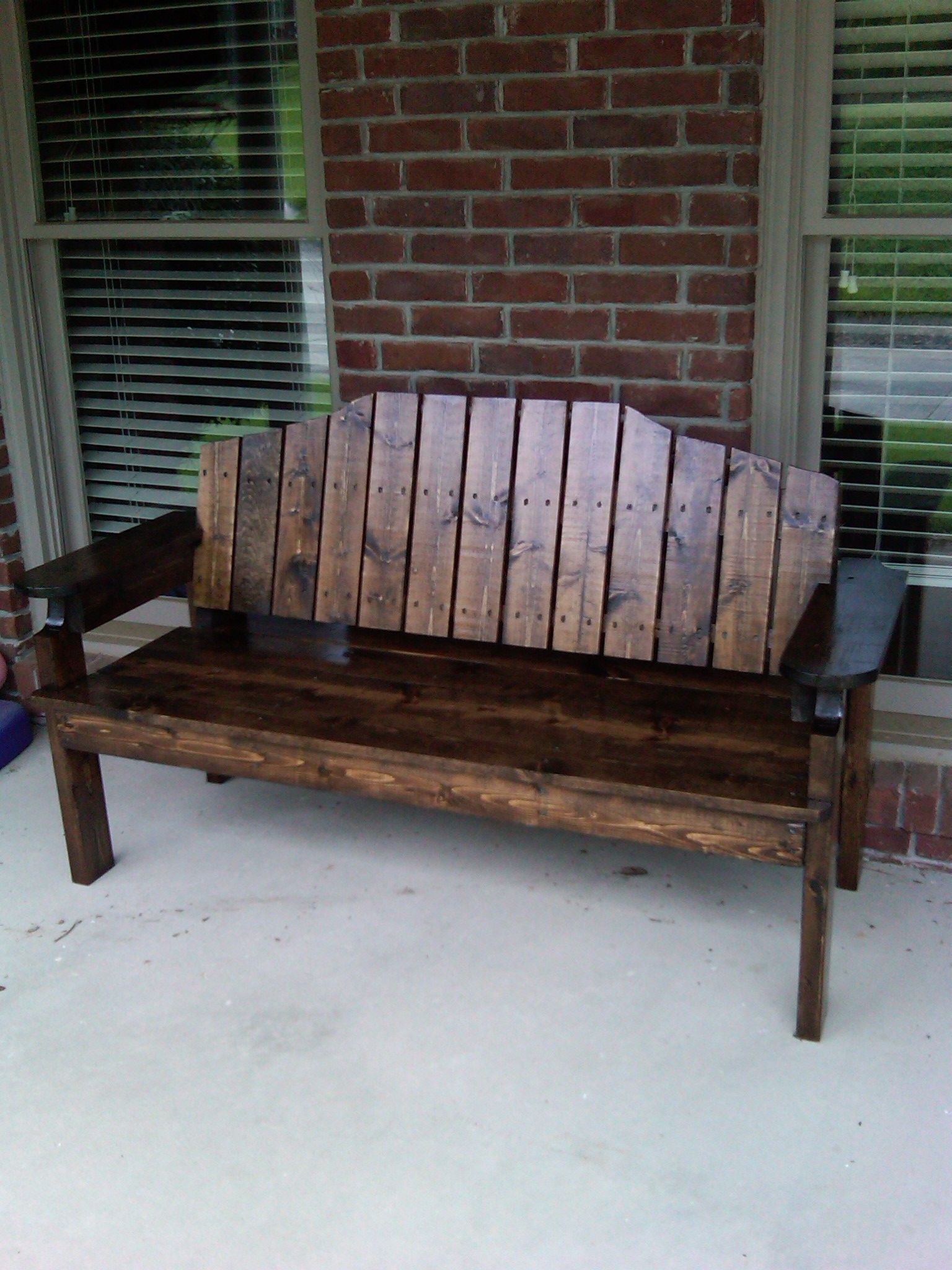 Front porch bench Crafts Wood Projects Porch bench