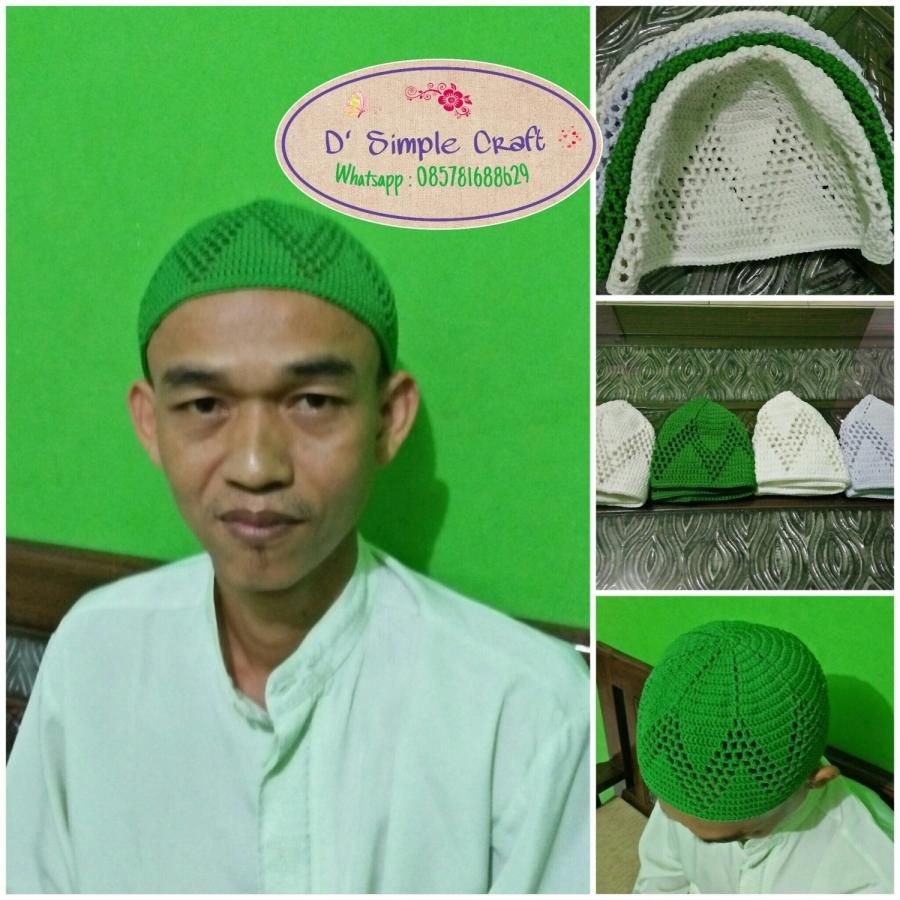 Kufi for daddies by Isneli Yulailah | Crochet-1: All About Crochet ...