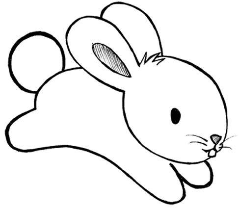 Desenhos De Coelhos Para Imprimir E Colorir Com Imagens
