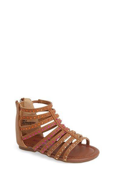 fbc1703624f kensie girl Crystal Gladiator Sandal (Walker