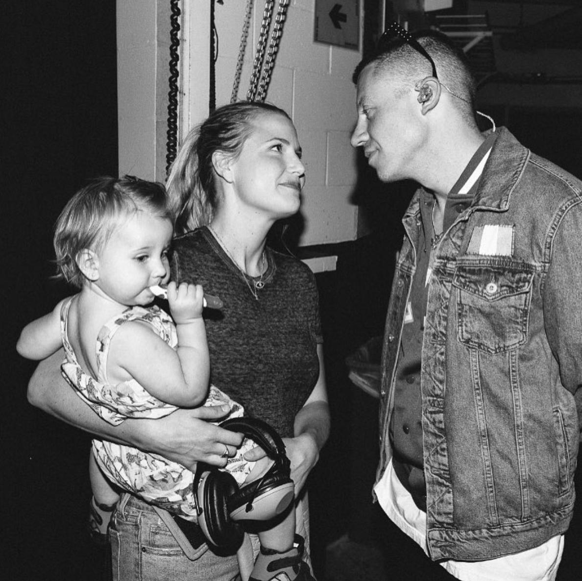 Ben And Tricia Macklemore Macklemore Daughter Second Child