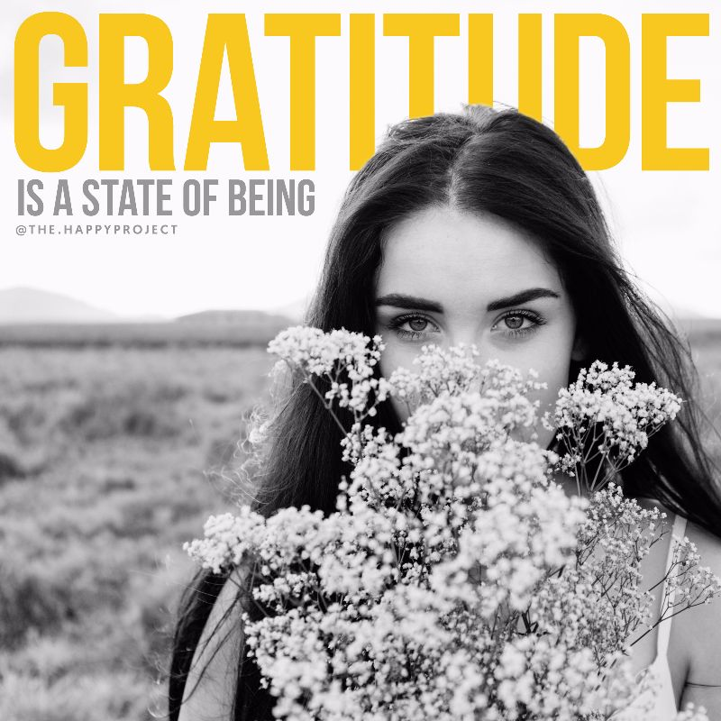 Remember to choose to be grateful.Make it a habit to appreciate life's gifts.Embody gratitude.Express gratitude.Cultivate gratitude.