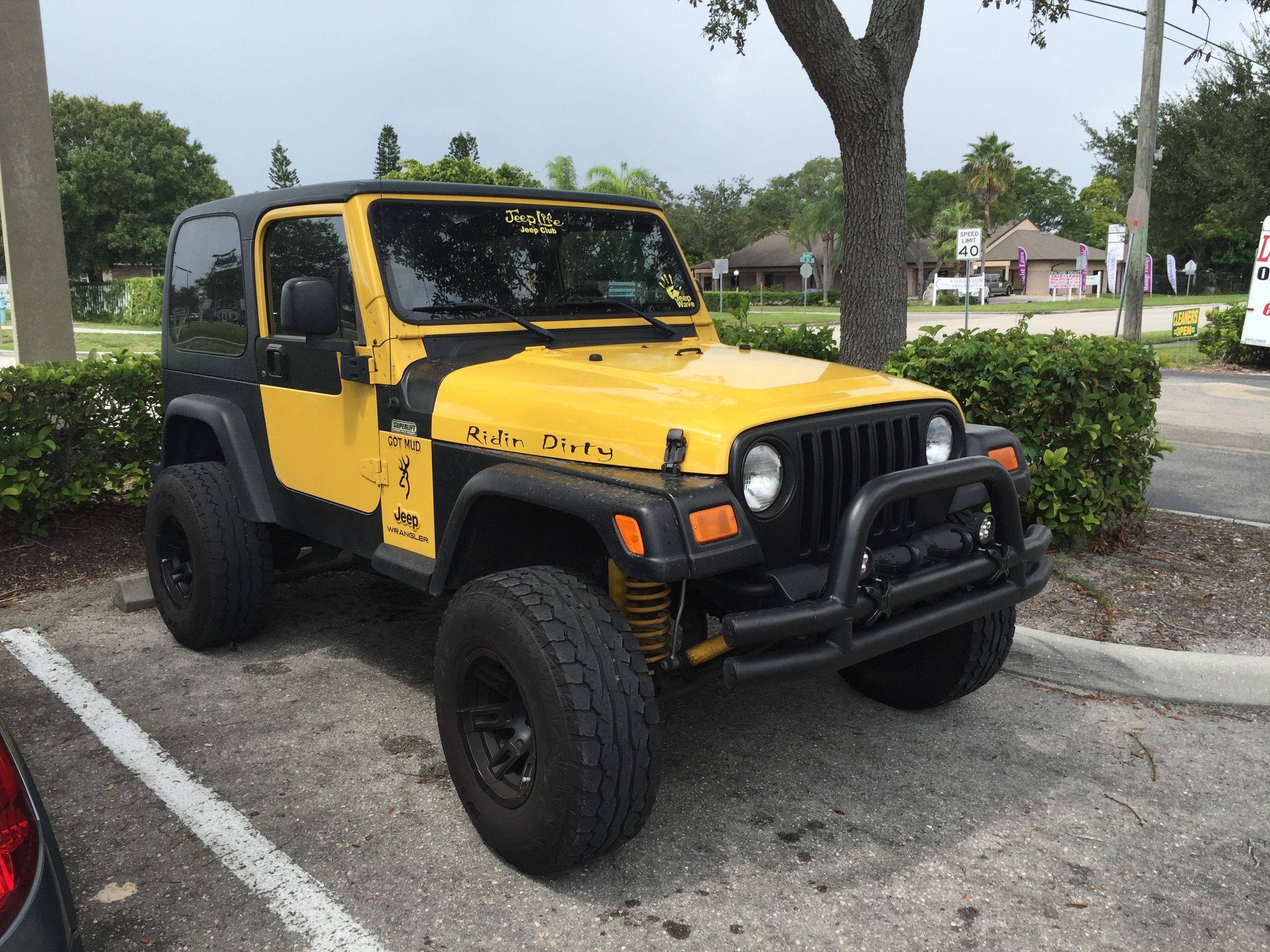 Jeep Life Jeep Club Yellow Tj 3 Jeep Tj Jeep Wrangler Tj