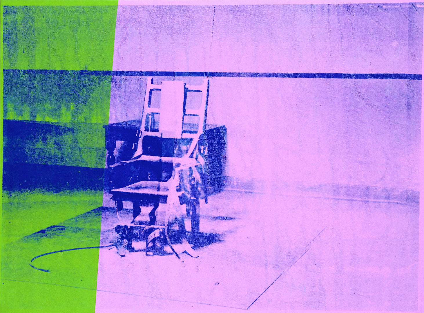 Electric chair andy warhol - Andy Warhol Big Electric Chair Disturbing Pieces Of Art From History