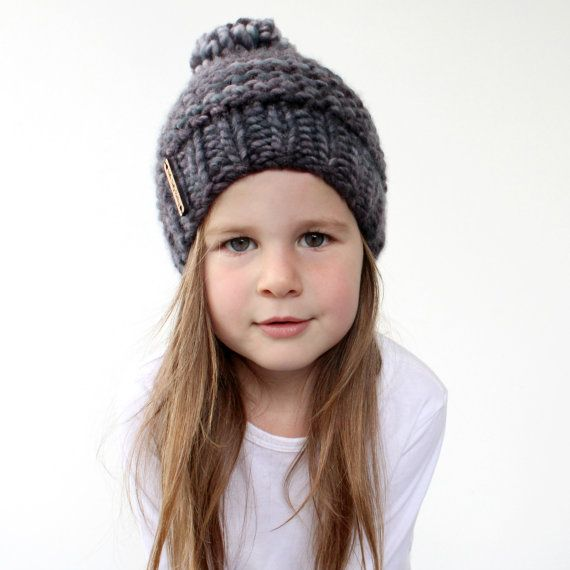 Chunky Knit Hat Pattern - PDF Knitting Pattern 2223c4c89b11