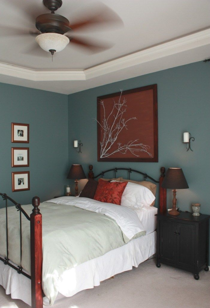 Benjamin Moore Templeton Gray Is The Best Cool Paint Colour For A South Facing Or Southern Exposure Room