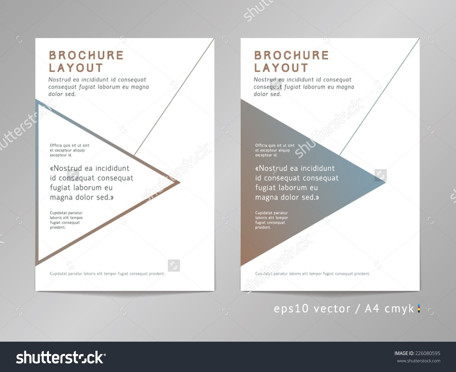 cover page layout design