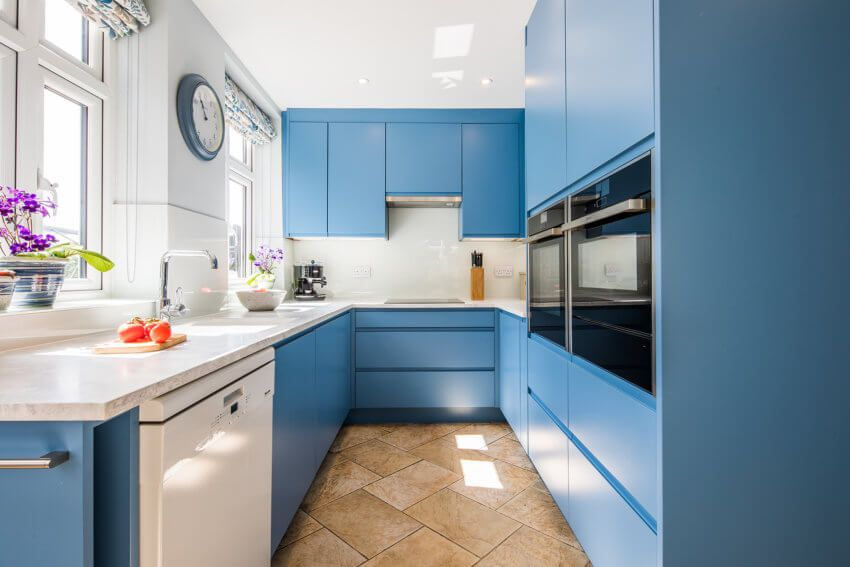 Best A Kind Of Blue Sustainable Kitchen Farrow And Ball 400 x 300