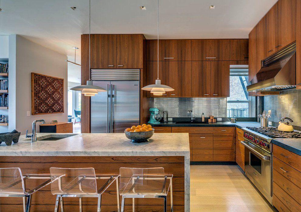 16 Charming Mid Century Kitchen Designs That