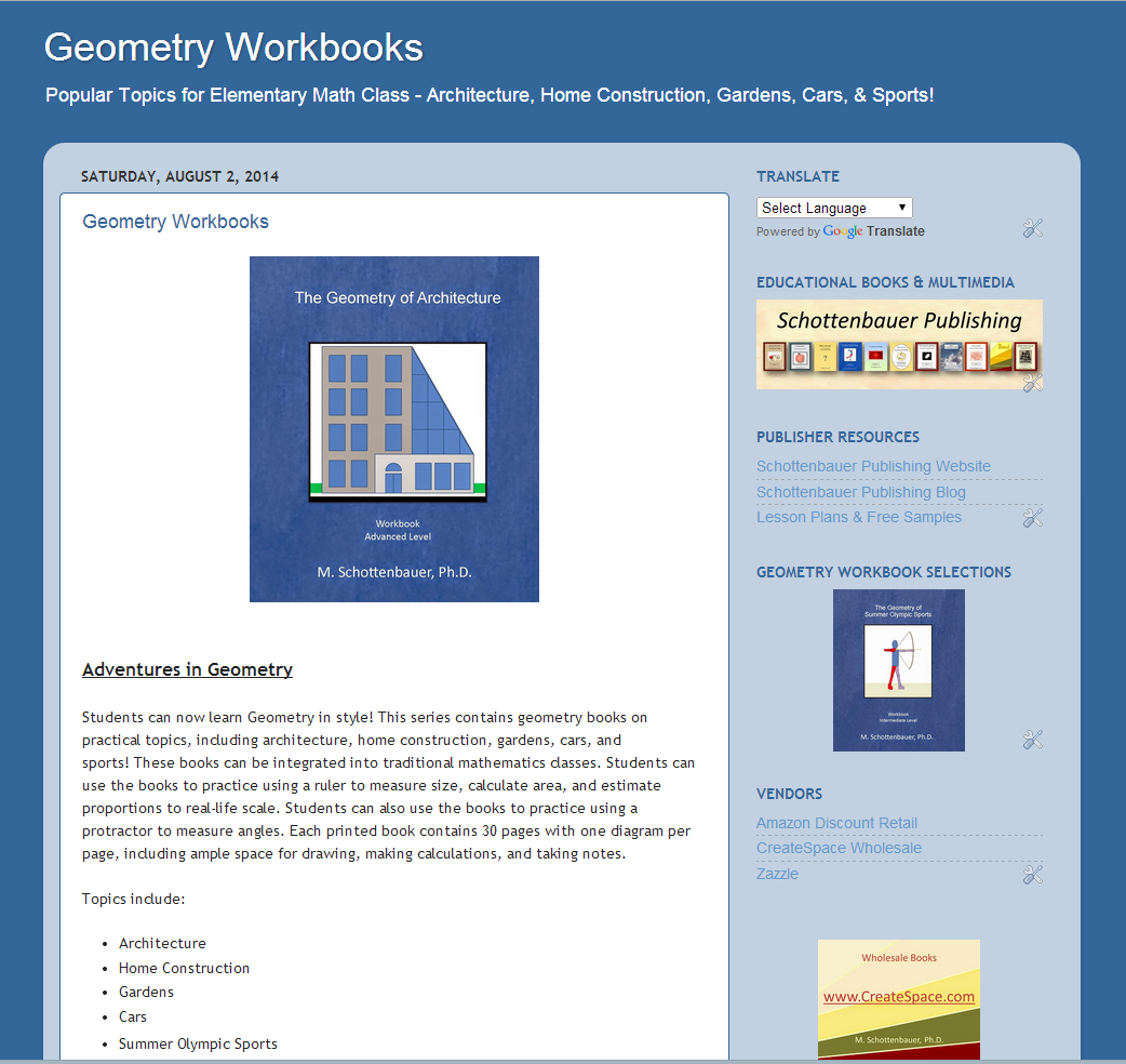 Geometry Workbooks Worksheets Http Geometryworkbooks Blogspot Com Available In Print And E Books From Amazon Ht Educational Books Elementary Math Workbook [ 984 x 1042 Pixel ]