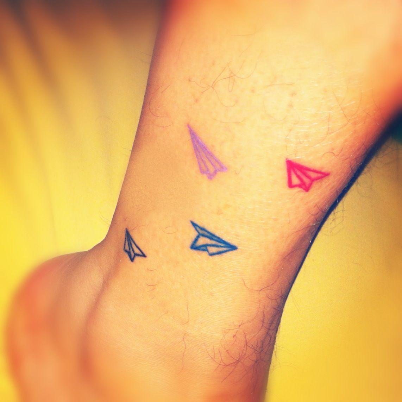 Tattoo Designs Paper: (My) Paper Plane Tattoo !!!