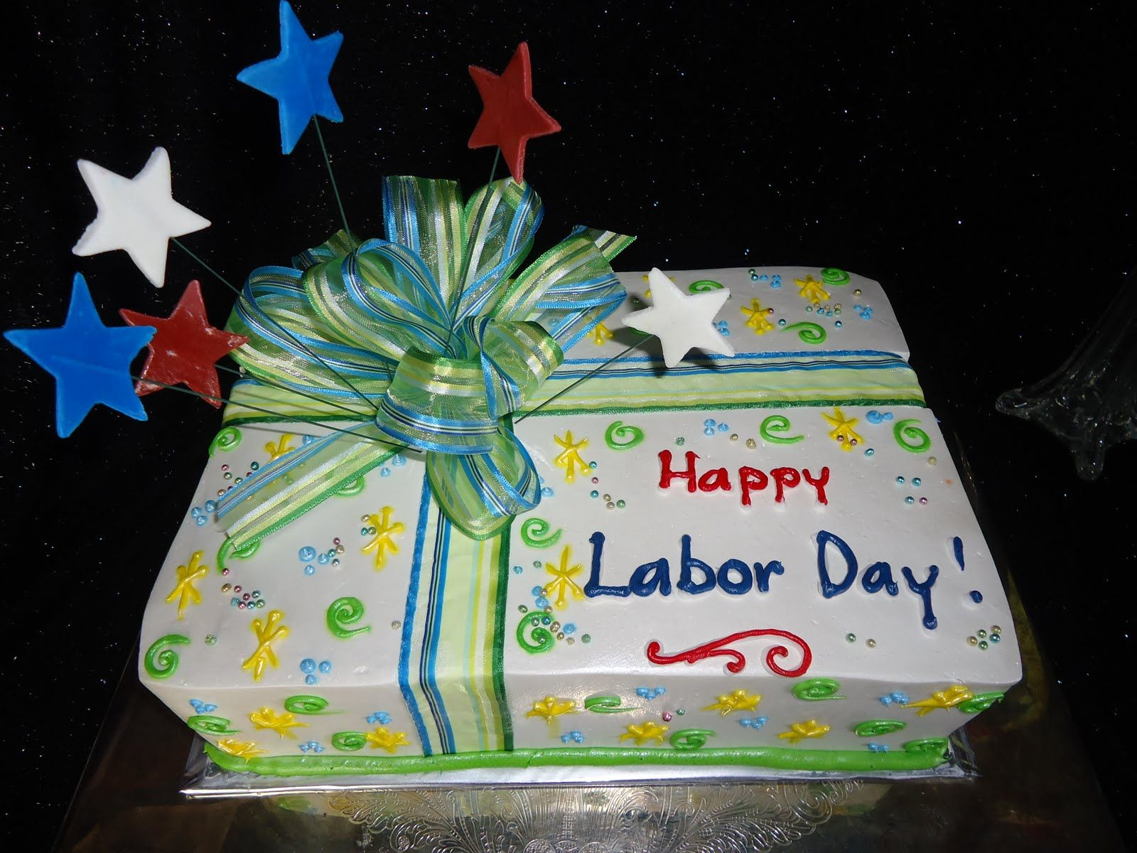 Labor Day Cake For Celebration Happy Labor Day Day Cake