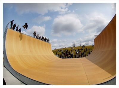 Skate Board Ramp >> Skateboard Ramps Google Search Landscape Skate Ramp