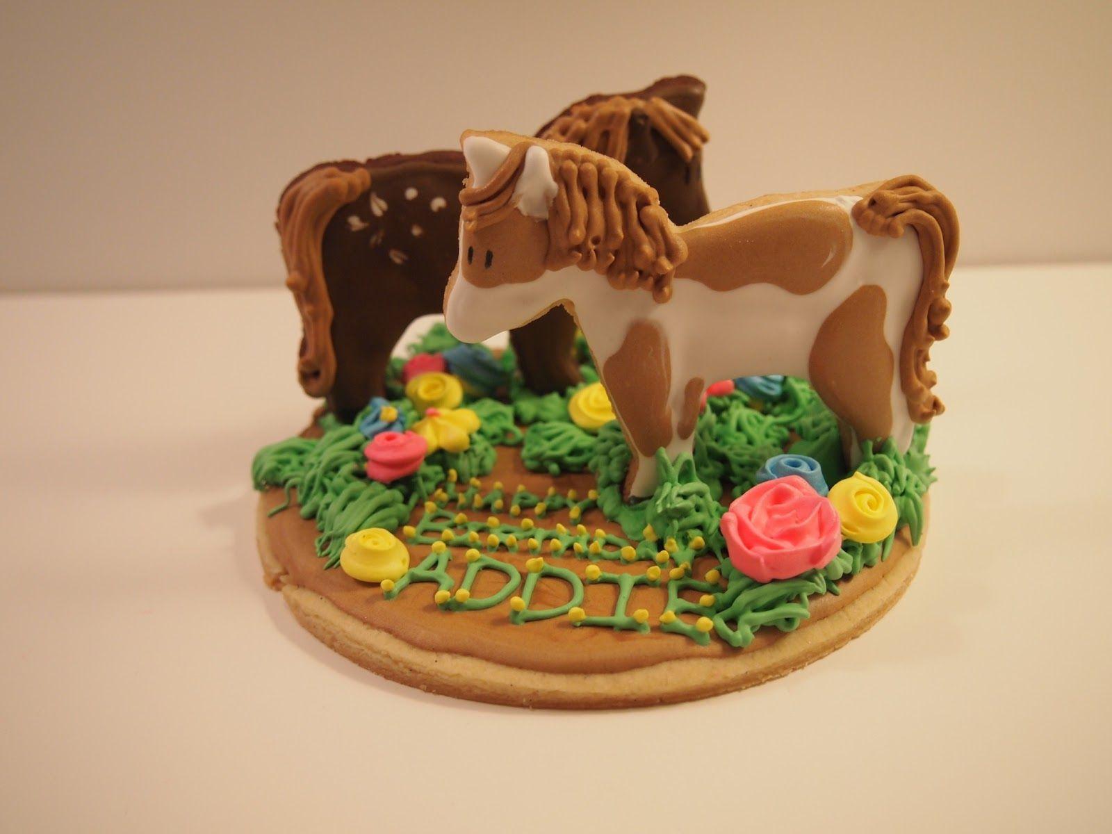 Something Sweet Giddy Up   Horse cookies, Horse birthday cake ...