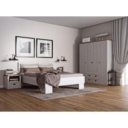 Schlafzimmer Komplett Set C Segnas, 4teilig, Farbe