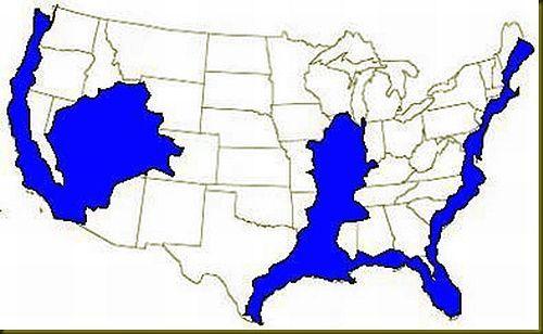 ConspiracyCom US Navy Map of Future America Worth Reading