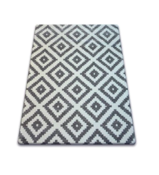 Dywany łuszczów Sketch 120x170 Romby Szary Gr2201 Allegro