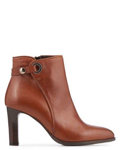 Toutes les chaussures en CUIR CHEVRE Cuir - Noir - Boots - Bianca - Minelli