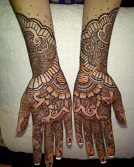 Hand Mehndi Tips : Rajasthani mehndi designs gangaur festival
