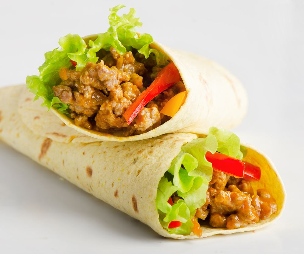 Flavorful Southwestern Taco Wraps the kids will love! Light, lean and delicious.