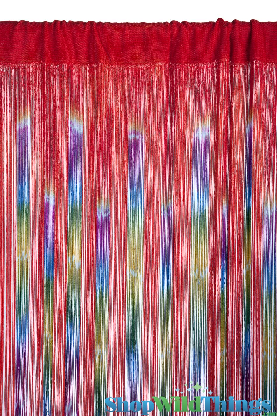 Multi Color String Curtain Fringe Panel Room Divider: Pin On Boho Style