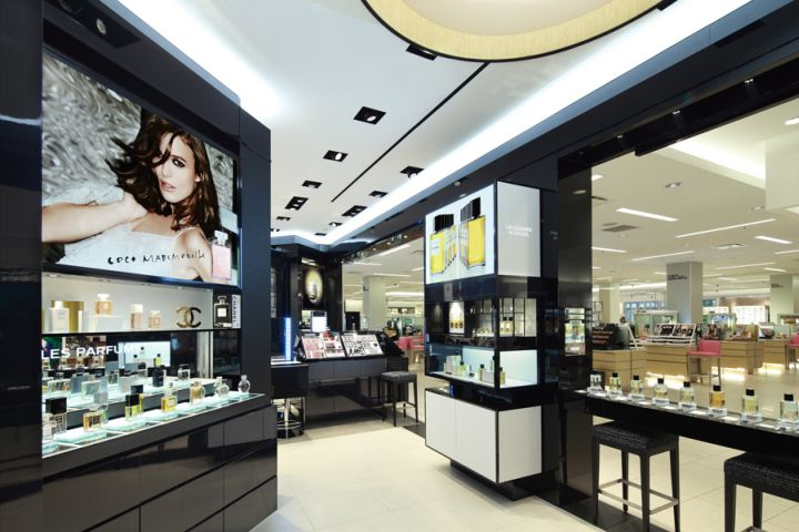 Chanel Cosmetics Store New Orleans Louisiana Retail Design Blog