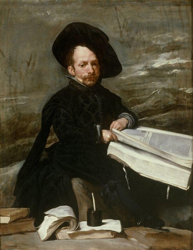 Diego Velázquez (Sevilla 1599 – Madrid 1660), Der Hofnarr Diego de Acedo, 1635. Öl auf Leinwand, 107 x 82 cm. Museo Nacional del Prado. Madrid © Museo Nacional del Prado