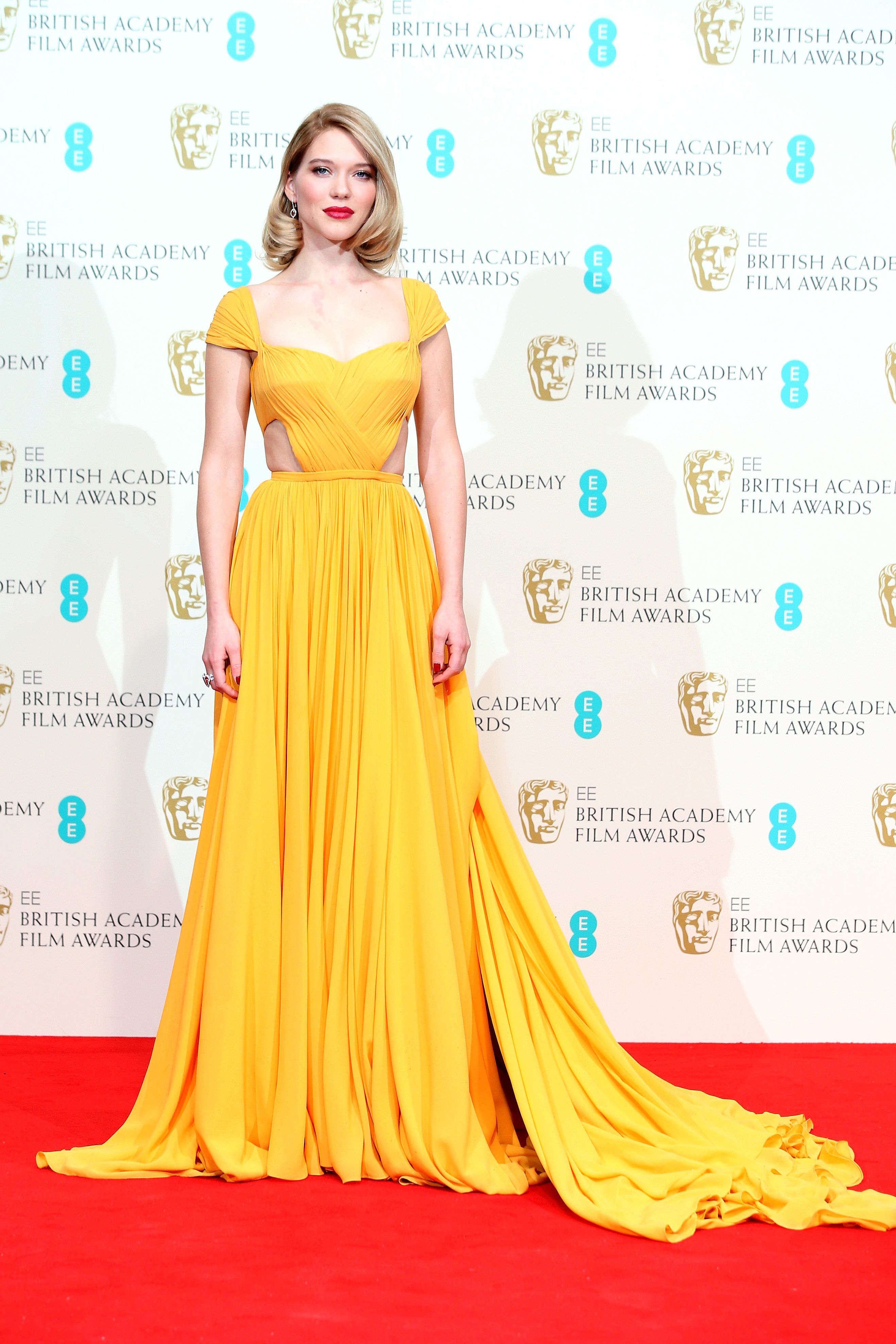 Bafta awards the best dressed celebrities from the red carpet